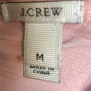 J Crew Scoop neck teeshirt